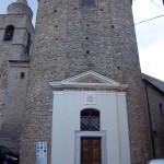 Facciata esterna Cripta Chiesa Madre - magliano costruzioni
